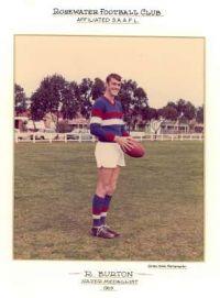 Rod Burton - 1969 Nazer Medallist